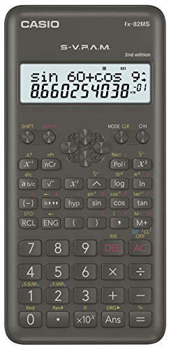 Casio fx-82 ms II (económica)