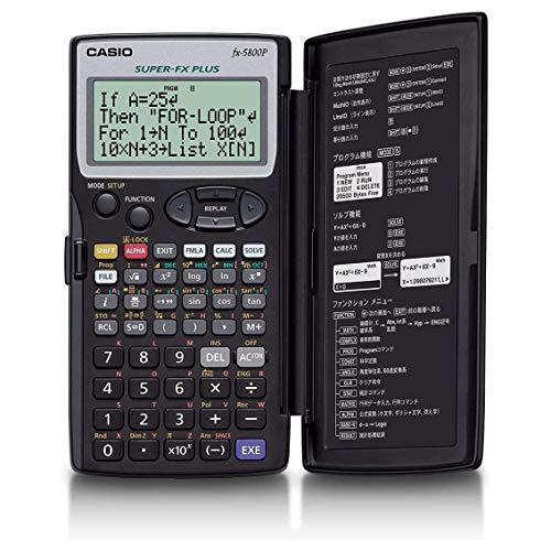 Casio FX-5800P - Calculadora programable, 15.1 x 81.5 x 163 mm, color negro
