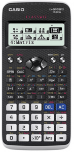 calculadora casio FX 570SP X
