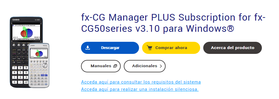 Emulador fx-cg50