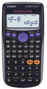 calculadora casio FX 350 ES PLUS