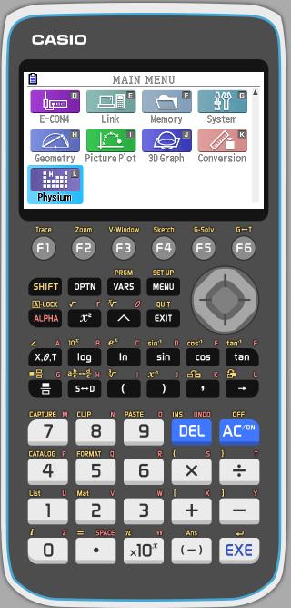 Emulador fx-50g pantalla 2