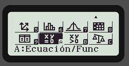 sistema de ecuaciones casio fx-991spx ii menu principal