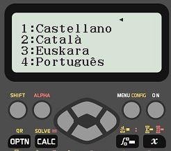 idiomas calculadora casio fx-82spxii iberia